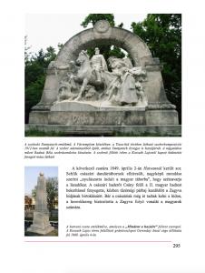 1848-49-es szobrok - részlet a Szoborkönyvből