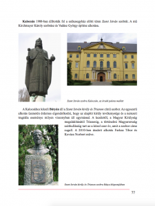 Kalocsai szobrok - részlet a Szoborkönyvből