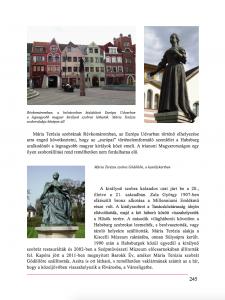 Mária Terézia - részlet a Szoborkönyvből