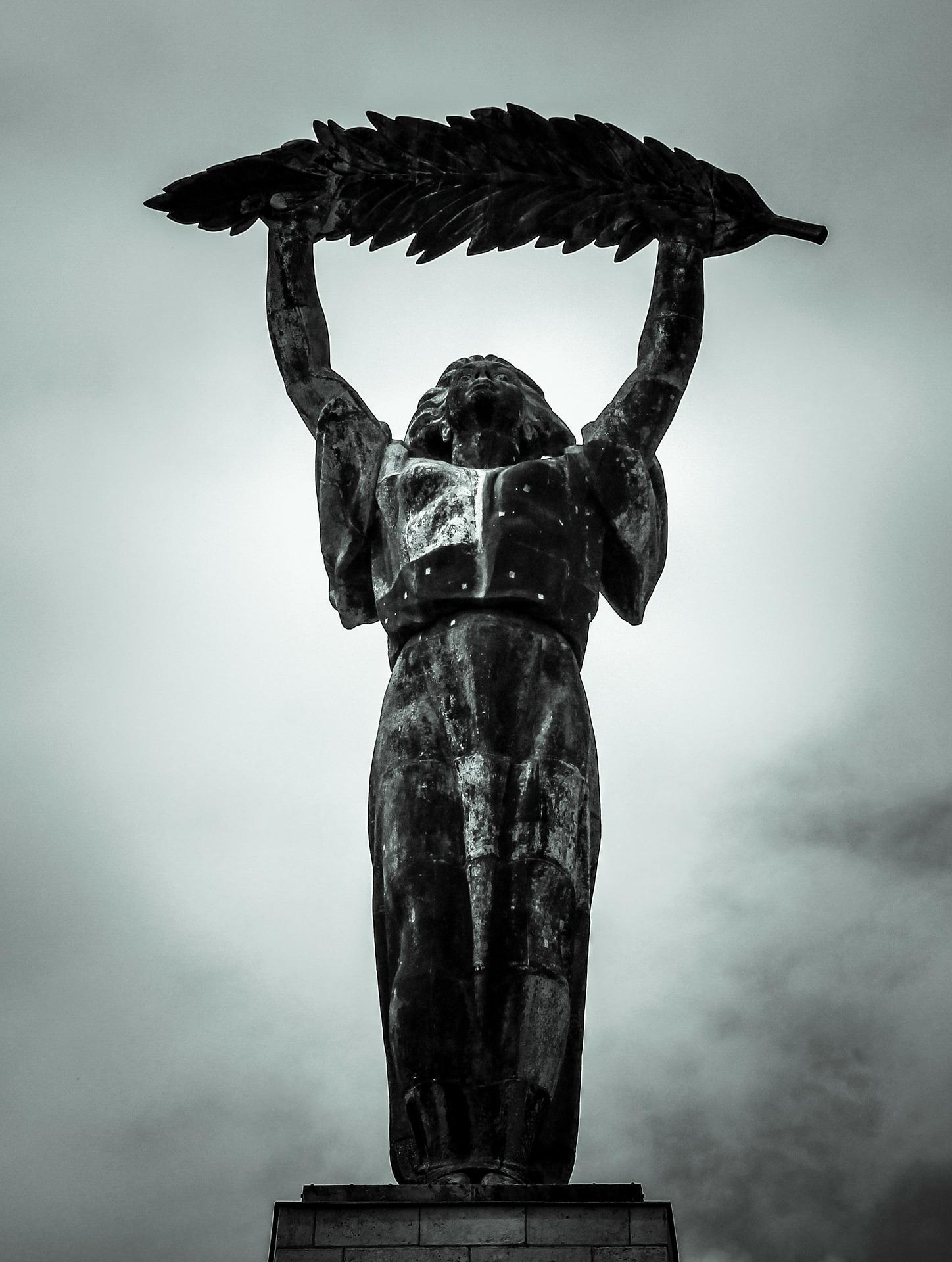 A Szabadság-szobor a Gellért-hegyen
